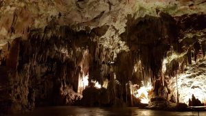 La sala degli spaghetti delle Grotte di Postumia