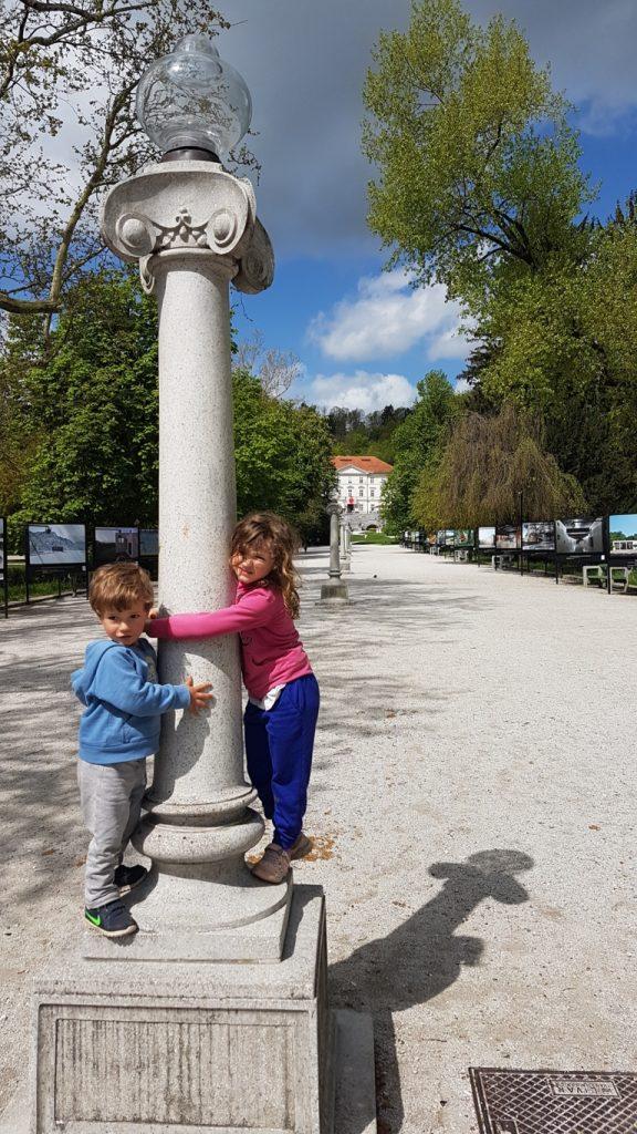 il parco Tivoli di Lubiana con i bambini