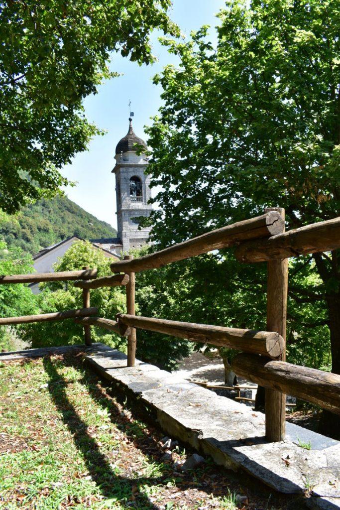 Area picnic del Sacro Monte di Ossuccio