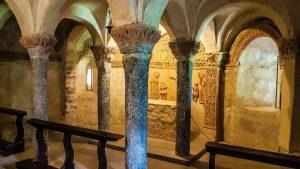la Cripta di San Pietro al Monte