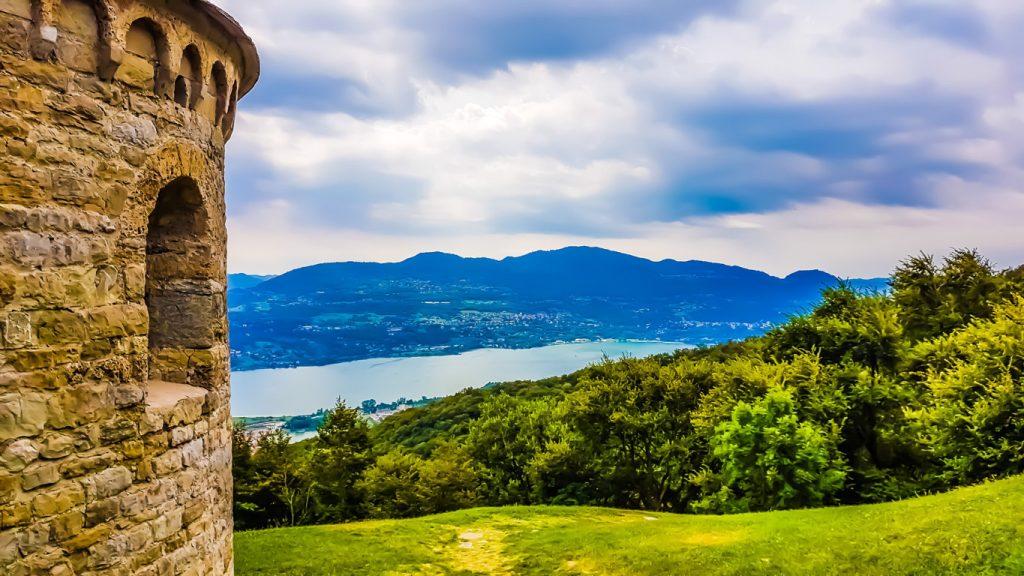 Panorama sul Lago di Annone
