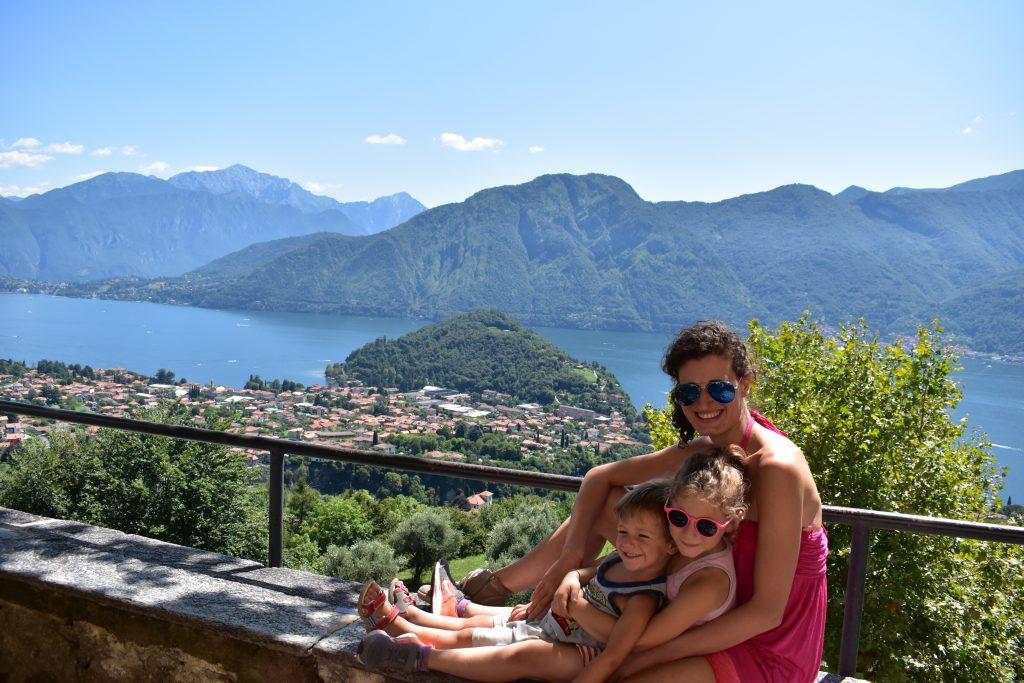 panorama di Ossuccio sul Lago di Como