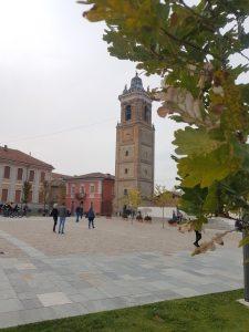 Piazza Castello di La Morra nelle Langhe