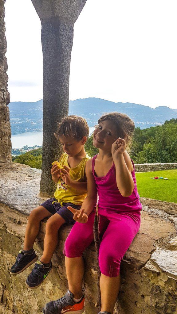 trekking con bambini in montagna