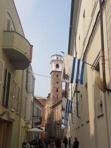 strade di Alba Piemonte