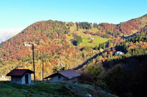 Il Monte San Primo in autunno