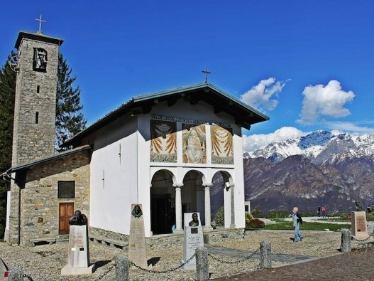 Il Santuario Madonna del Ghisallo a Magreglio