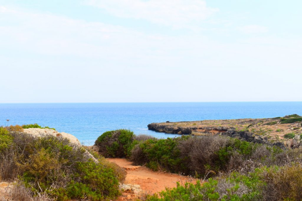 La spiaggia Calamosche nell'Oasi Naturale di Vendicari