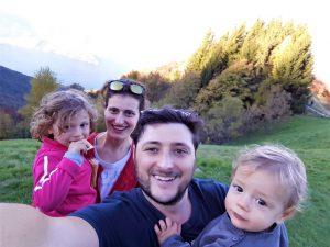 Trekking con bambini sul Monte San Primo