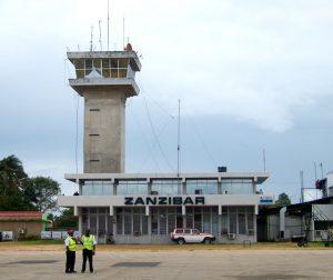 L'aeroporto di Zanzibar