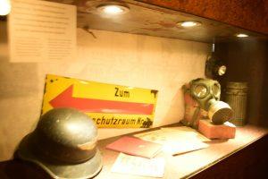 Cimeli del rifugio antiaereo di Fuggerei