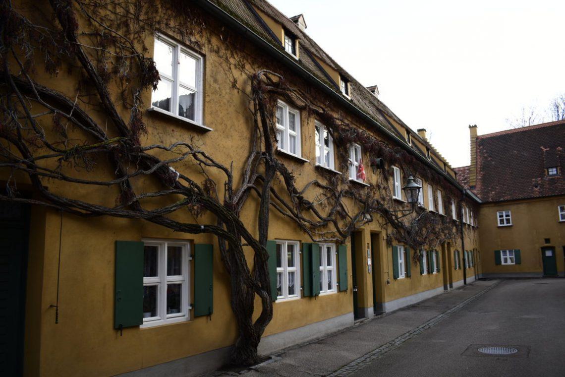 La Fuggerei ad Augusta in Germania
