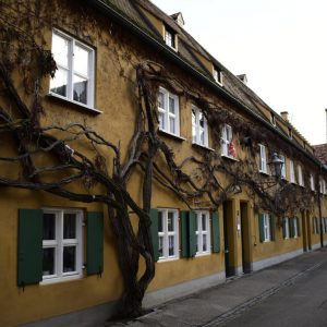La Fuggerei ad Augusta in Germania