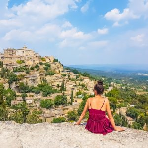 Il panorama di Gordes in Provenza