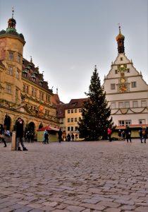 Marktplatz di Rothenburg