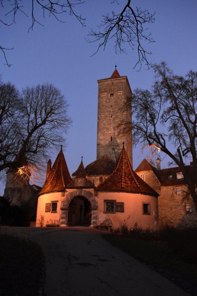 La Porta del Maniero a Rothenburg ob der Tauber