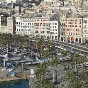 Porto Antico Genova dall'alto