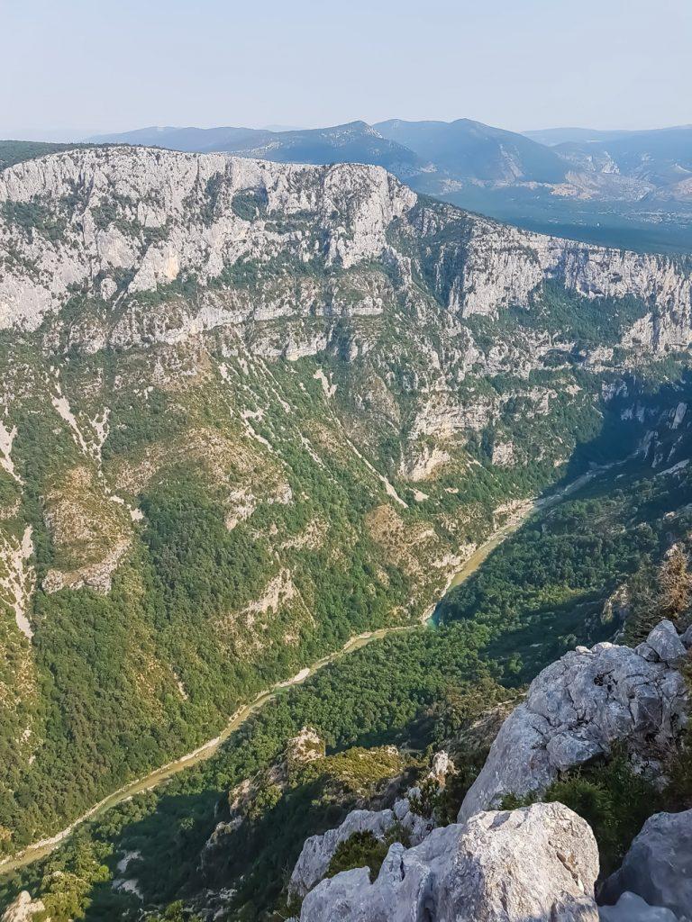 Gorges du Verdon in Provenza, Francia