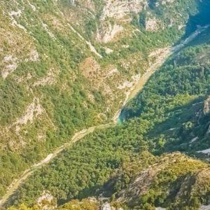 Le Gole del Verdon in Francia