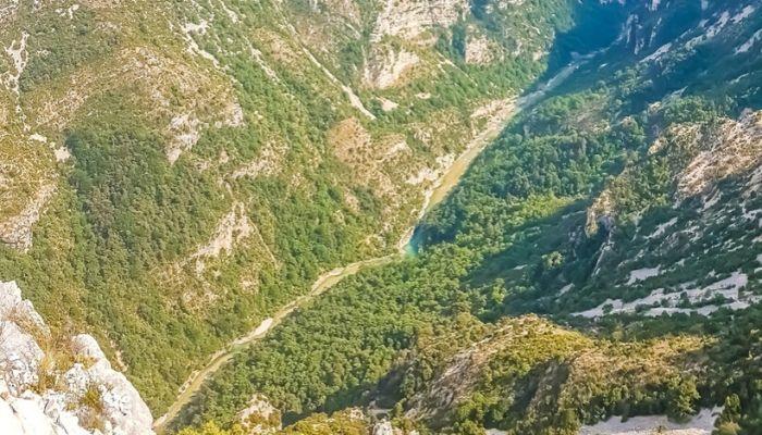 Itinerario Gole del Verdon in auto: percorso con mappa delle strade panoramiche