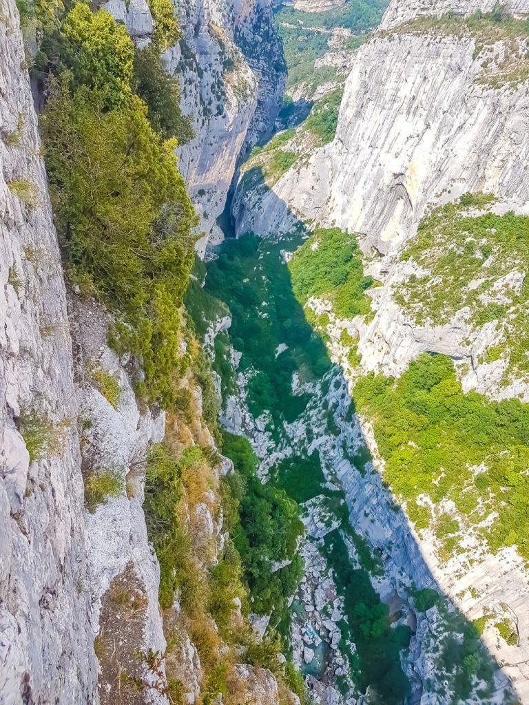 le rocce delle Gole del Verdon