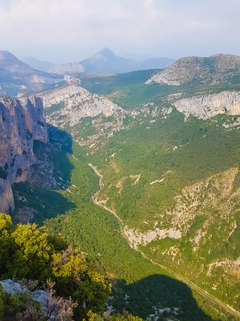 La valle del Verdon in Francia