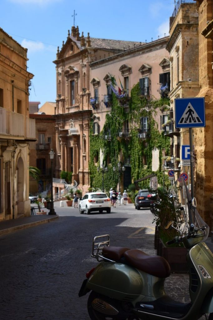 centro storico di Agrigento