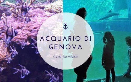 Visitare l'Acquario di Genova con bambini