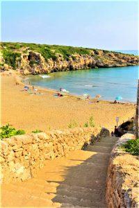 La spiaggia Calamosche nella Riserva Naturale di Vendicari
