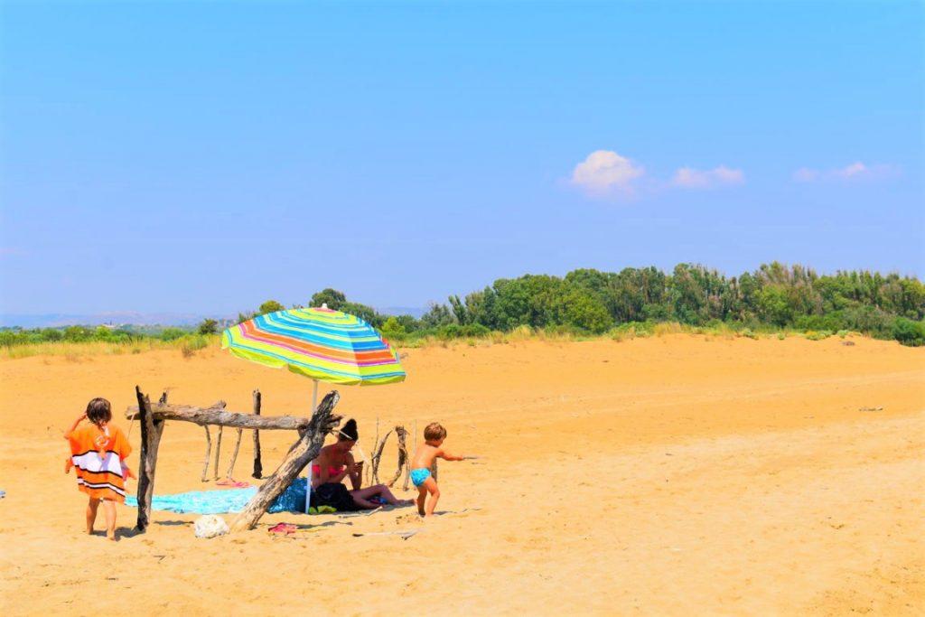 La spiaggia deserta di Eloro