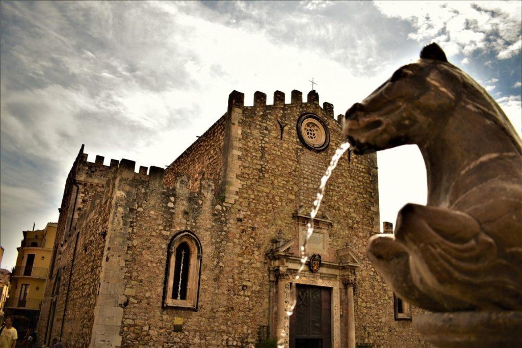 la Cattedrale di San Nicola a Taormina