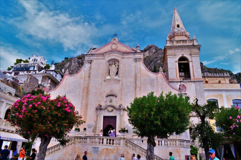 la Chiesa di San Giuseppe a Taormina
