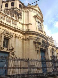 Chiesa di Via dei Crociferi a Catania
