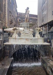 La Fontana dell'Amenano di Catania
