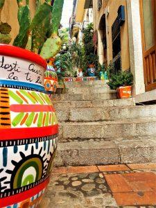 i vasi decorati di Taormina