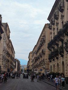 Via Etna a Catania