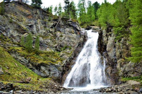 La Cascata della Val Nera a Livigno