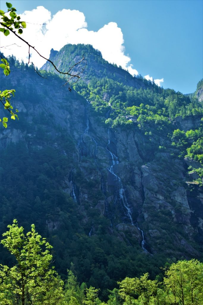 le cascate della Val Masino