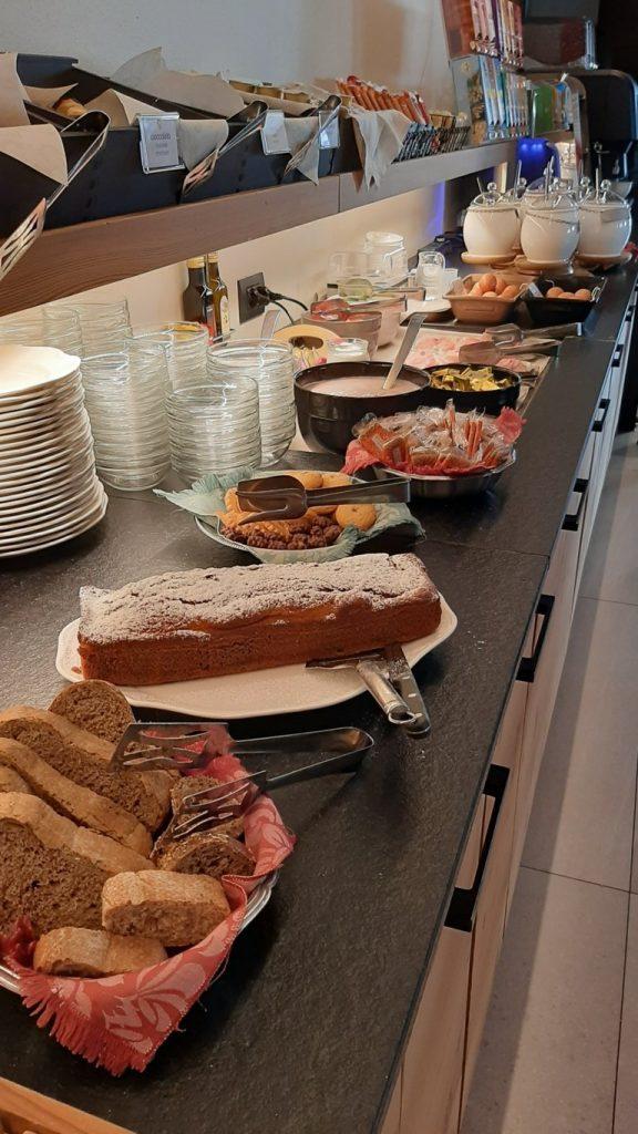 la colazione a buffet dell'Hotel Astoria