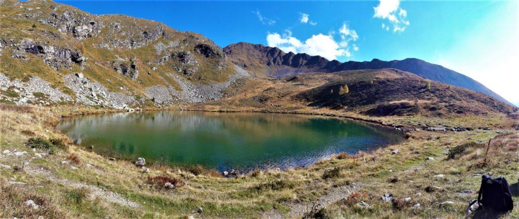 Il Lago delle Trote in Alta Val Brembana
