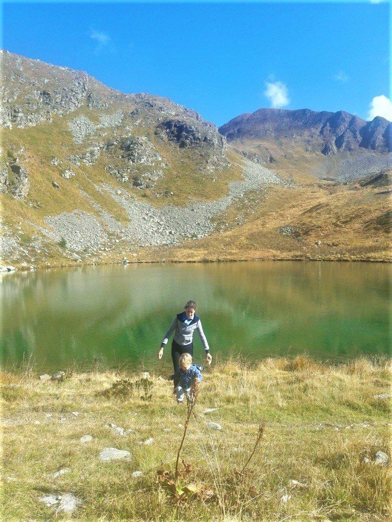 il Lago delle Trote, semplice escursione adatta ai bambini