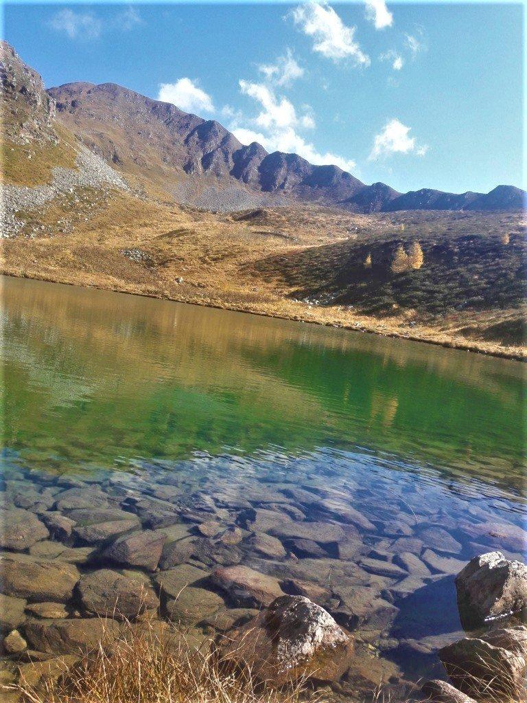 il Lago delle Trote sul monte Toro a Foppolo in Alta Val Brembana