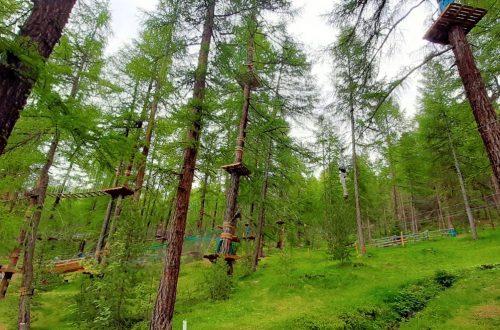 il parco avventura Larix Park di Livigno