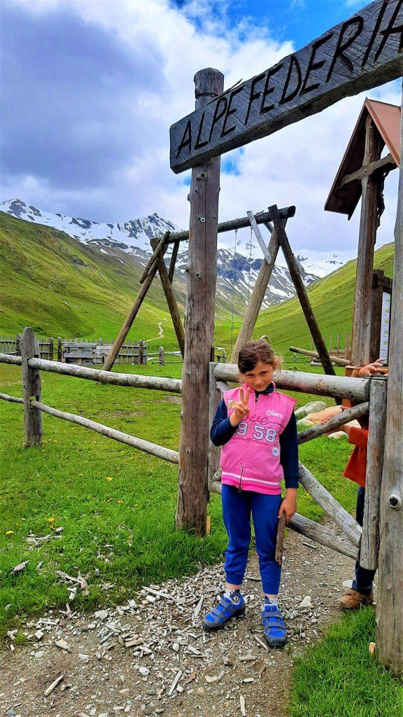 Il Rifugio Alpe Federia con bambini