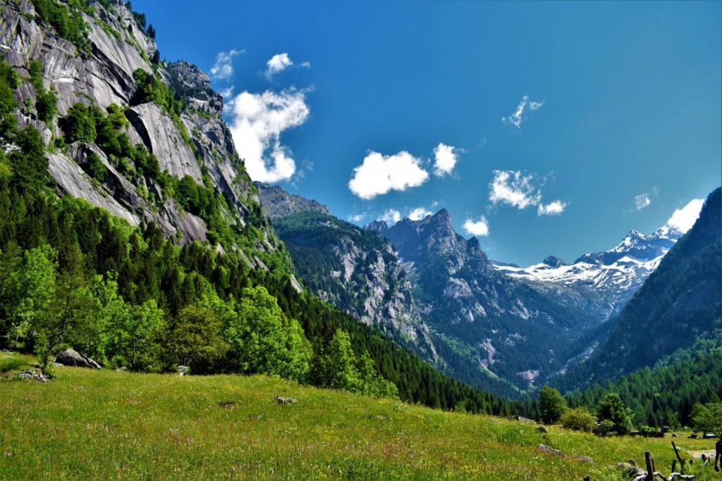 Val di Mello riserva naturale della Lombardia