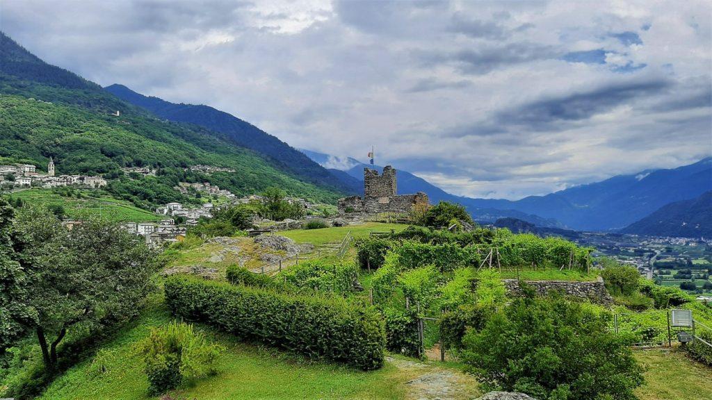 Castel Grumello a Montagna in Valtellina