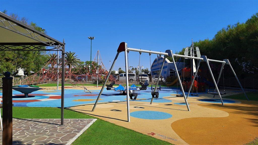 parco giochi per bambini del Salinello Camping Village