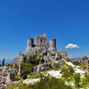 Il Castello di Rocca Calascio in Abruzzo