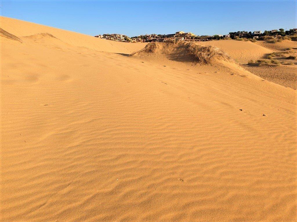 Le dune della spiaggia di Torre dei Corsari in Sardegna