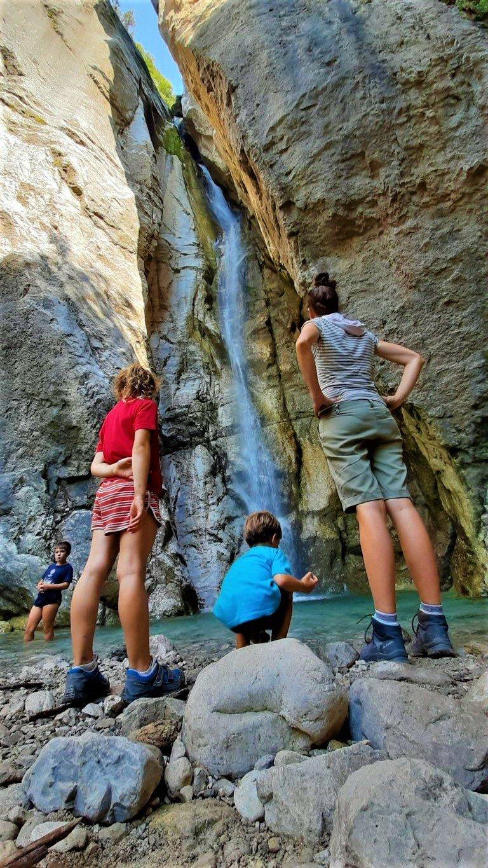 Natural landscape Cascata del Cenghen Lecco